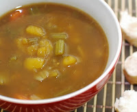 Sopa de Mandioquinha com Cenoura (vegana)