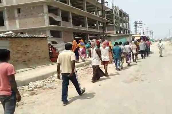 ballabhgarh-imt-food-distribution-by-rss-lock-down-news