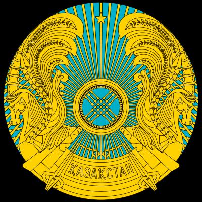 Lambang negara Kazakhstan