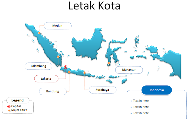 Template Power Point Peta Negara Indonesia Template Power Point Peta Negara Indonesia