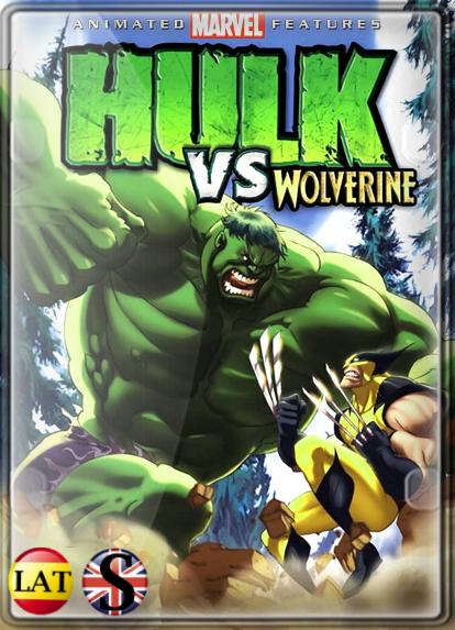 Hulk vs. Wolverine (2009) HD 720P LATINO/INGLES