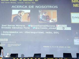 Navaja Negra 2019 - Joel Serna y Ernesto Sánchez