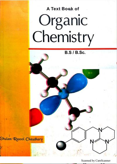textbook Organic Chemistry B S / B Sc in pdf - Science
