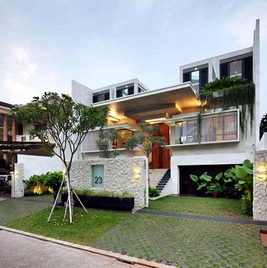 Gambar Desain Rumah Minimalis 2 Lantai Exclusive Design