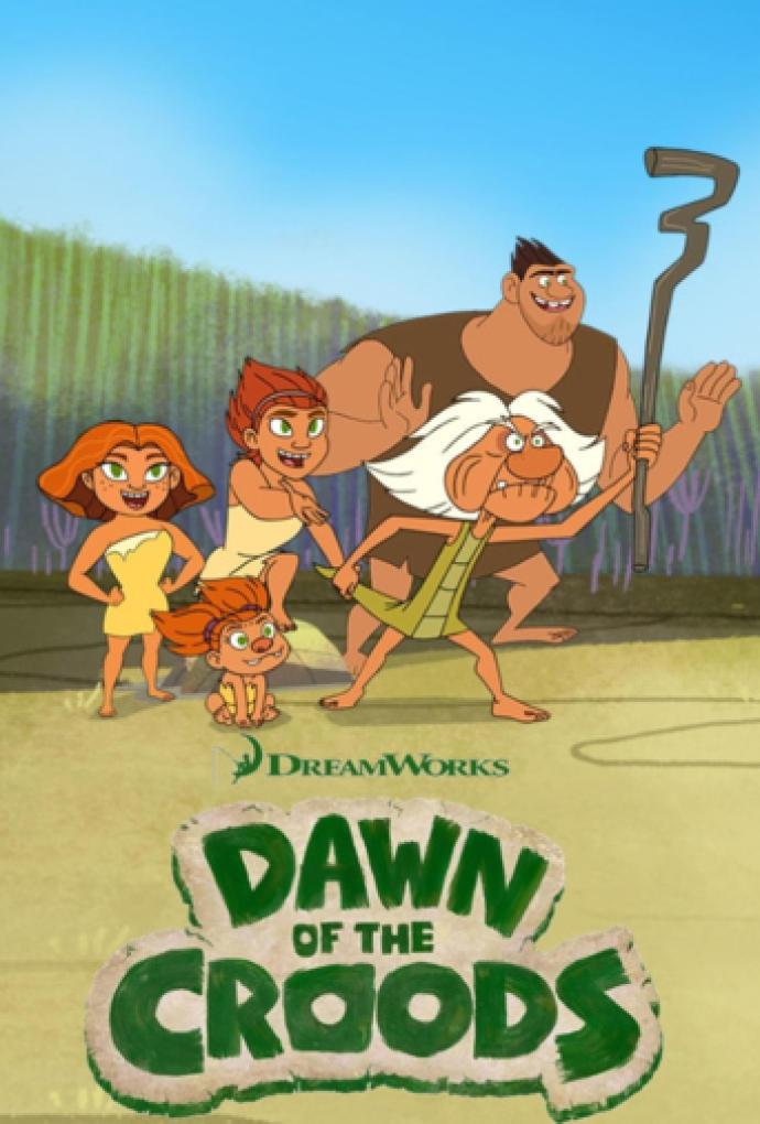 Dawn of the Croods (El amanecer de los Croods) Serie Completa Latino 720p