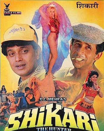 Watch Online Bollywood Movie Shikari: The Hunter 1991 300MB HDRip 480P Full Hindi Film Free Download At WorldFree4u.Com