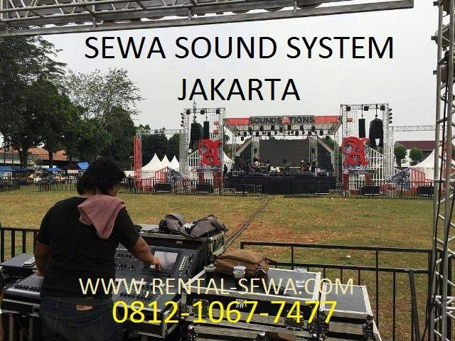Sewa sound system murah Jakarta