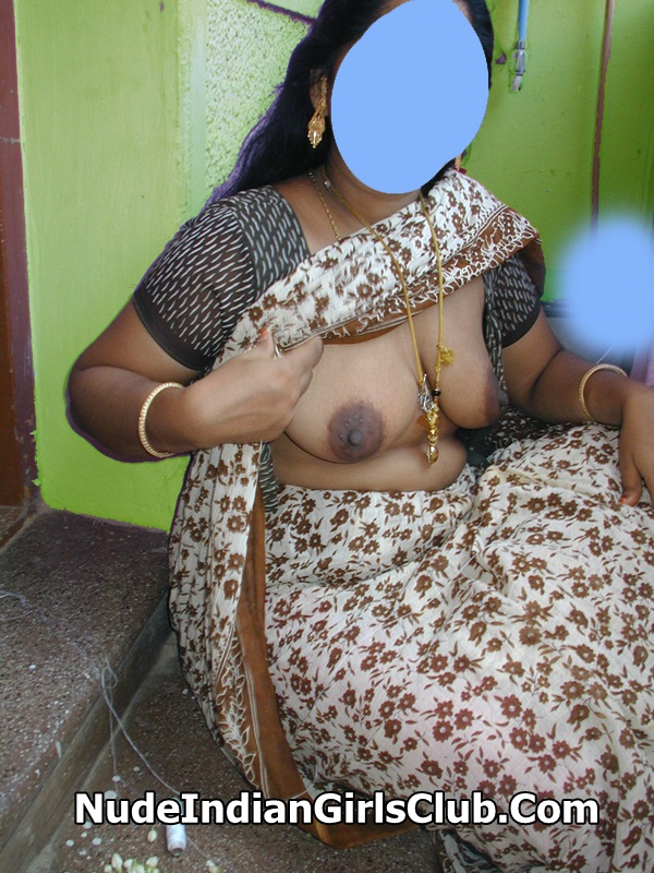 Indian Aunties Tamil Aunty In Saree-6787