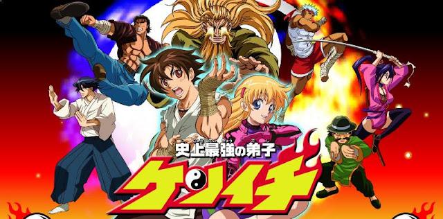 Shijou Saikyou no Deshi Kenichi - Daftar Anime Martial Arts Terbaik dan Terpopuler