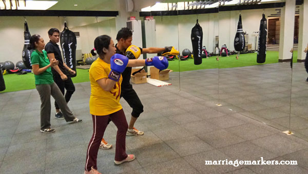 Fitness Mecca Bacolod gym boxing classes