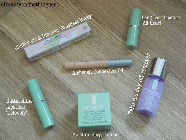 Mini Clinique Haul: Clinique Chubby Stick Intense!