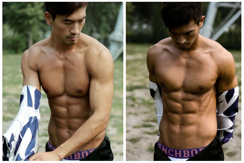 Apologise Chinese male models consider, that