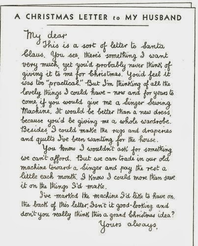 what-i-found: A Christmas Letter to My Husband - 1934