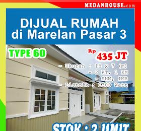 dijual rumah baru cantik indah di marelan pasar 3 <del>Rp 500 Jt </del> <price>Rp. 435 Jt</price> <code>rumahdimarelanpasar3</code>