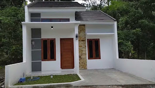 Denah Rumah Sederhana 6x12 tiga kamar