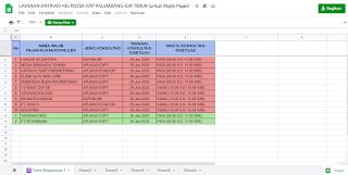 antrean online kpp pratama palembang ilir timur