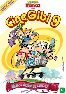 Turma da Mônica em Cine Gibi 9 - DVDRip Nacional