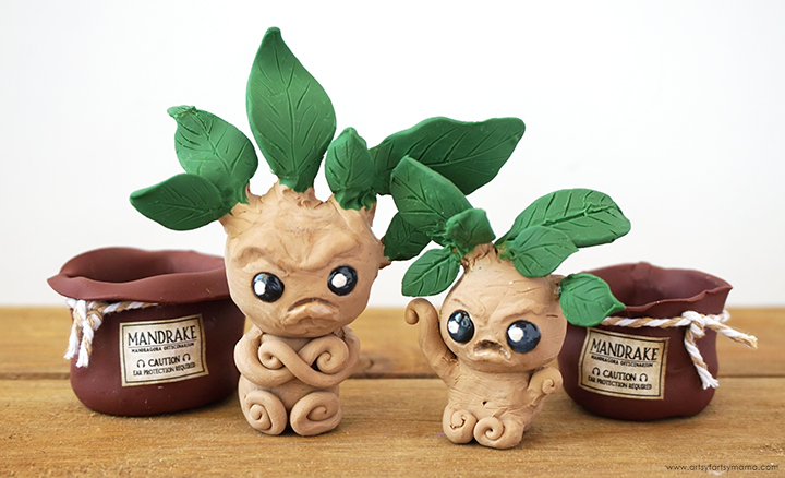 Harry Potter Mandrakes Outside of Pots