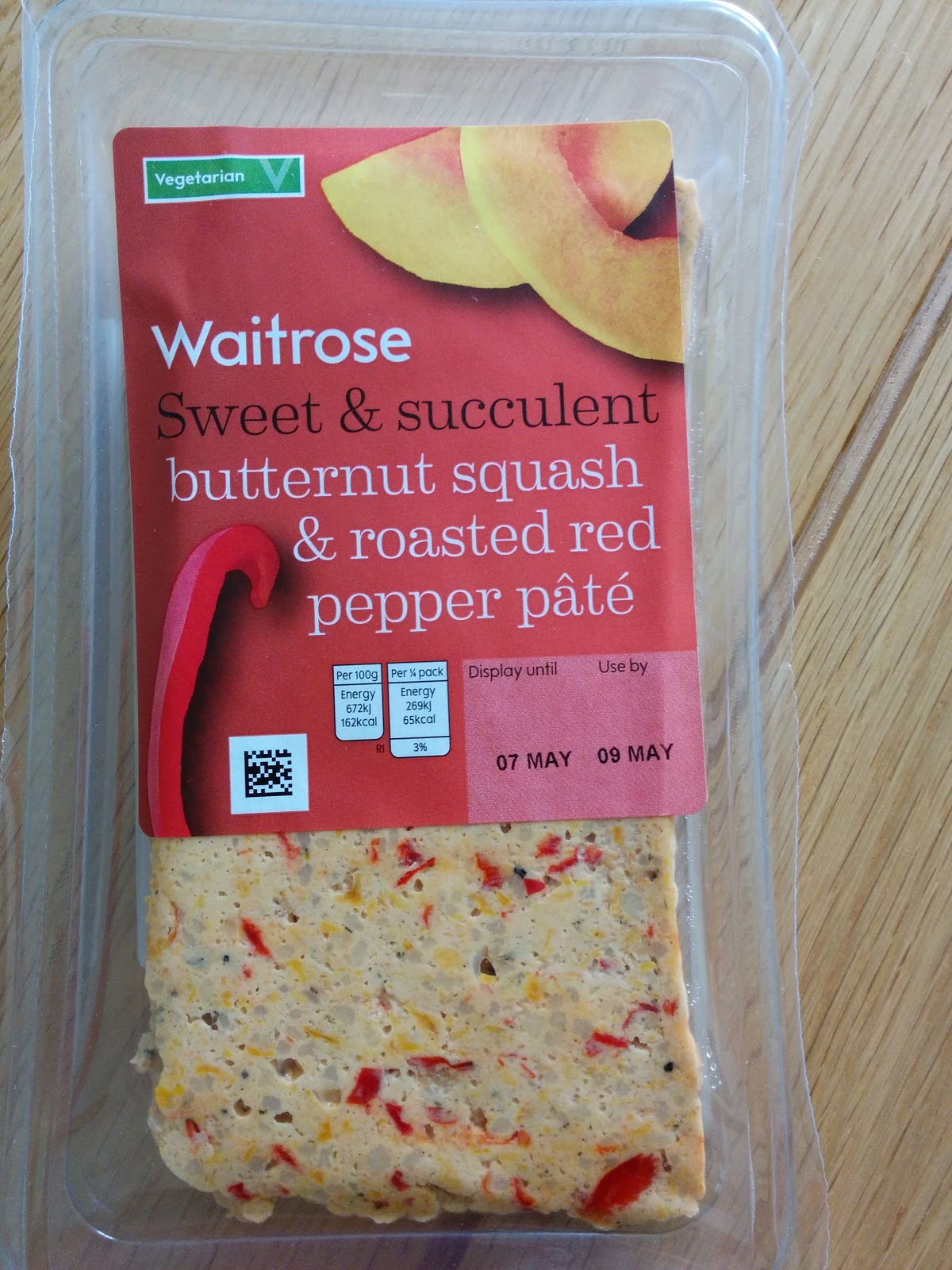 The Excited Eater: Waitrose Butternut Squash & Roasted Red