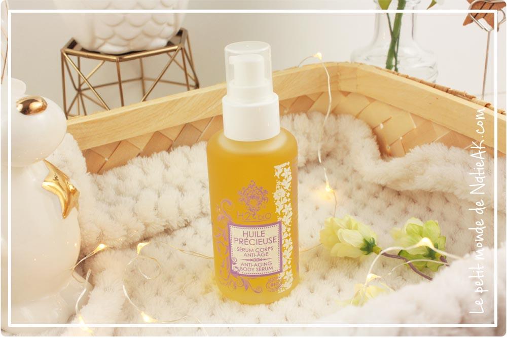 huile corps massage