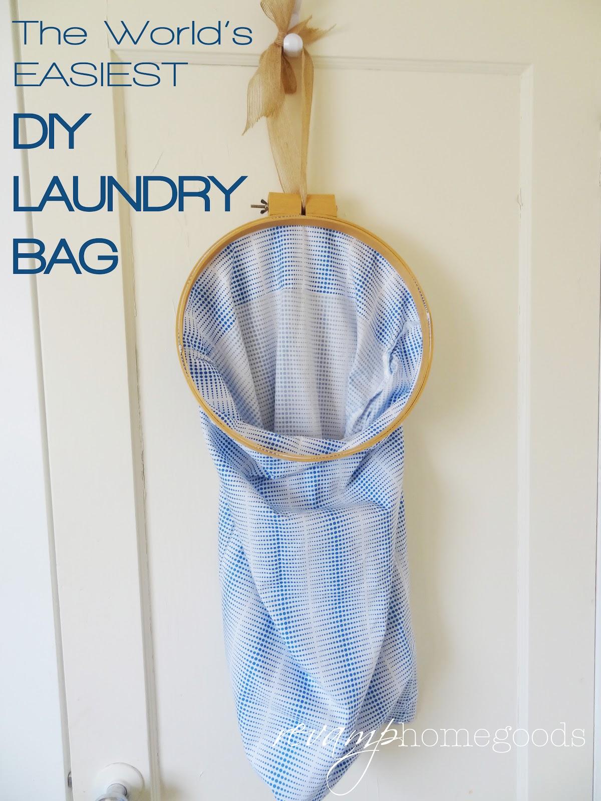 The World's EASIEST DIY Laundry Bag | Revamp Homegoods
