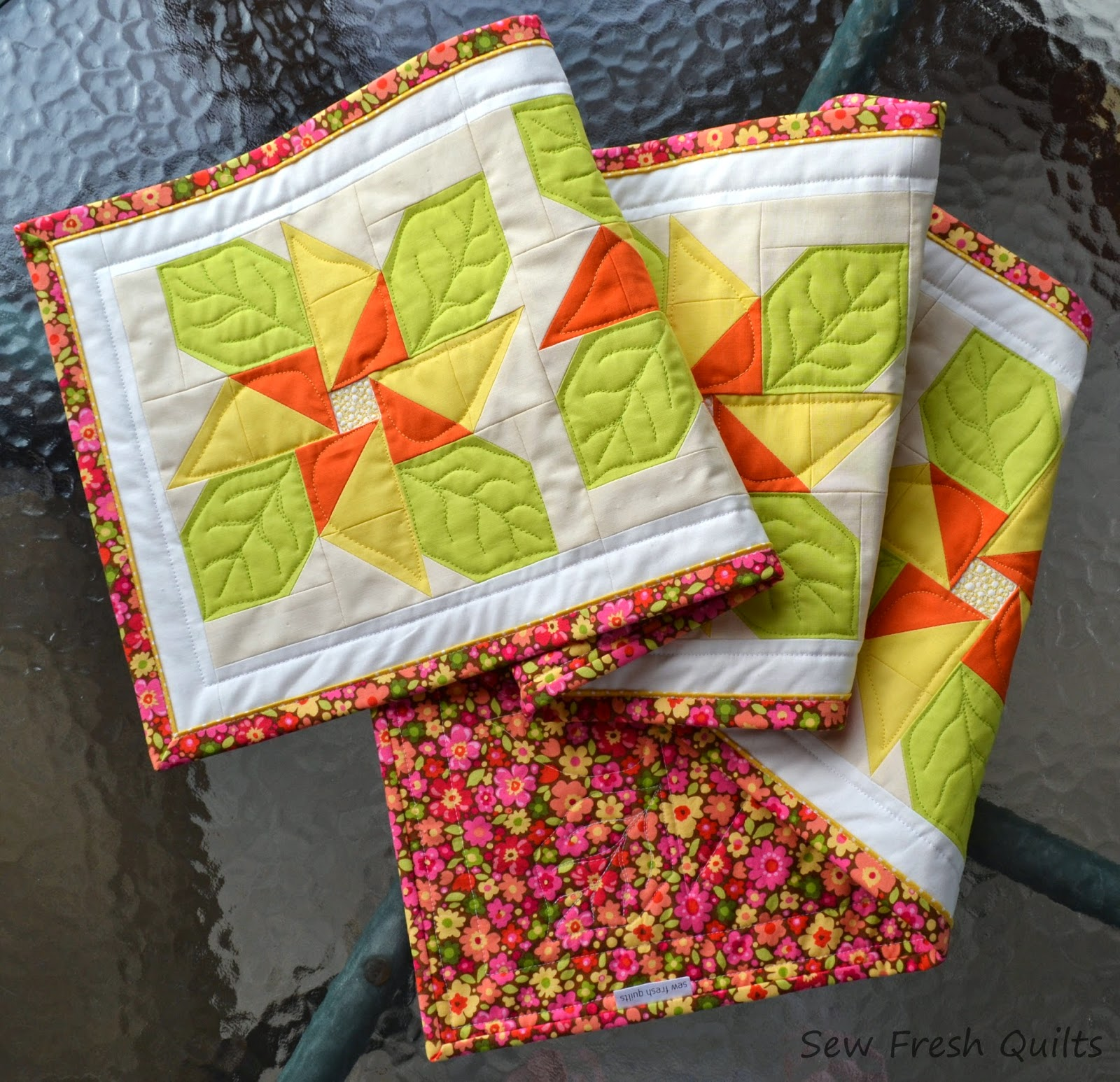 Sew Fresh Quilts: Flanged Binding Tutorial