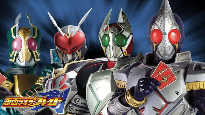 Kamen Rider Blade Episode 1 - 49 Tamat Subtitle Indonesia