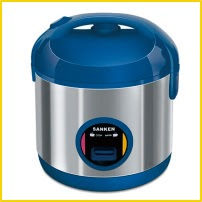 Sanken SJ-203BK Rice Cooker Mini
