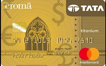 Tata Croma Titanium Card