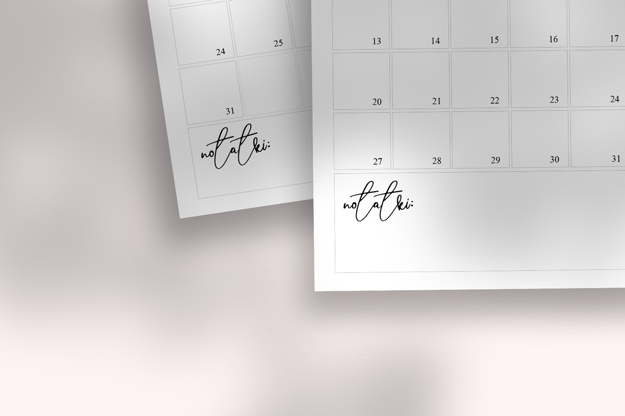 kalendarz 2020 do pobrania za darmo
