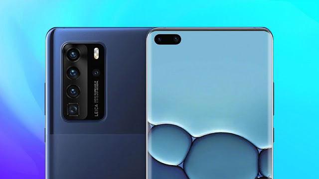 Huawei P40 and P40 Pro press renders leak, P40 Premium to have two telephoto cams.