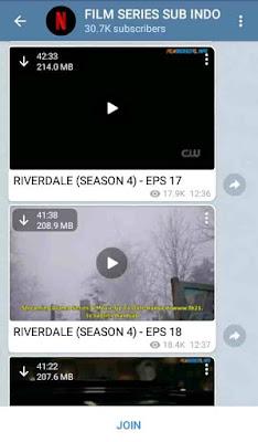 channel film di telegram