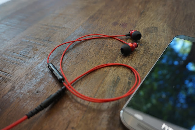 Brainwavz Audio Delta Earphones red