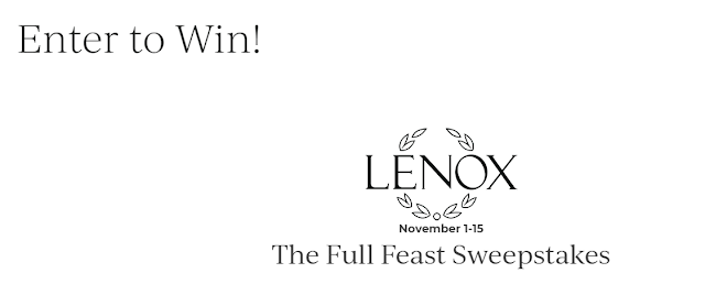 Lenox and Plated want to give you the ultimate Thanksgiving! One lucky winner will receive a full dinnerware set in their iconic 1918 Autumn® pattern and more!