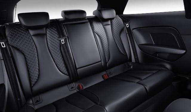 Audi S3 Sedan 2017 - espaço traseiro