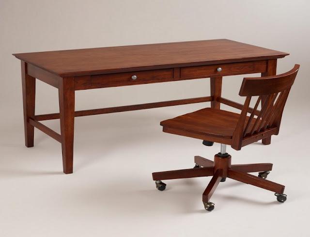 best solid wood home office desk Tesco for sale online