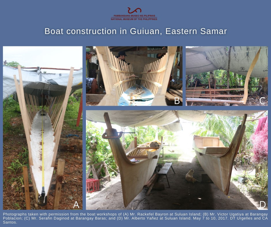 Contemporary boat culture and boat-building practices at Suluan Island, Guiuan, Eastern Samar