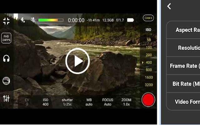4K Camera - Filmmaker Pro Camera Movie Recorder Free For Android