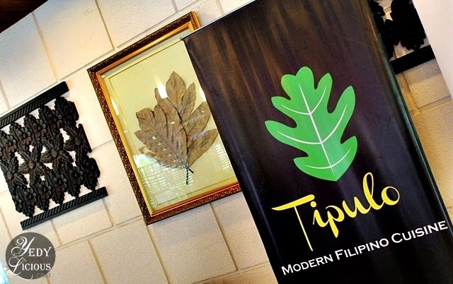 Tipulo Modern Filipino Cuisine in Antipolo City / Tipulo Tree Leaf