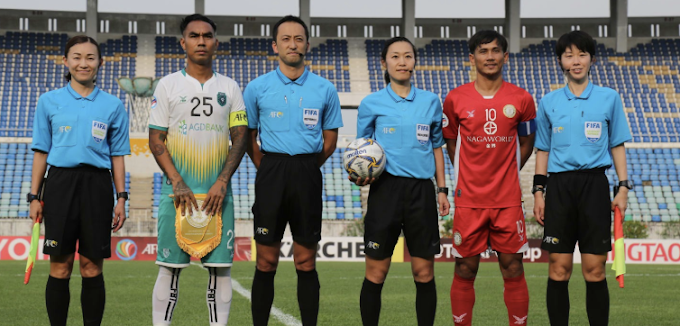 All female officals at the AFC Cup