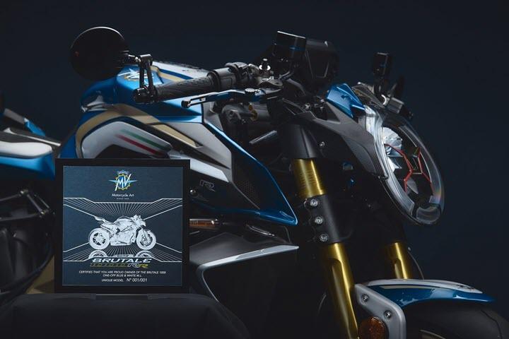 MV Agusta Brutale 1000RR ML Edition: Siêu môtô độc nhất tôn vinh huyền thoại bóng đá Italia