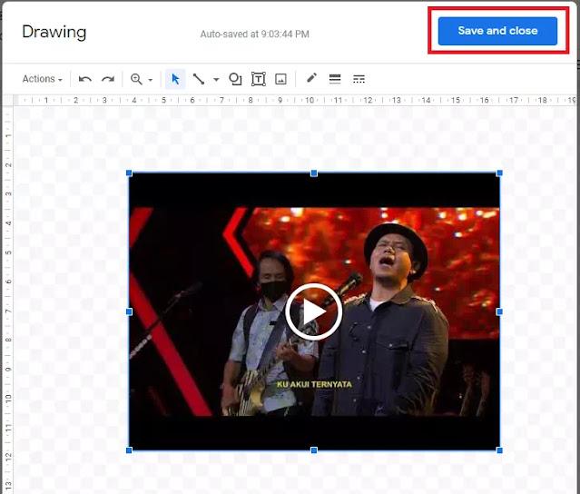 Cara Menyisipkan Video di Google Docs-5