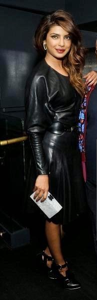 Blog On Bollybabes Priyanka Chopra In Kinky Black Leather