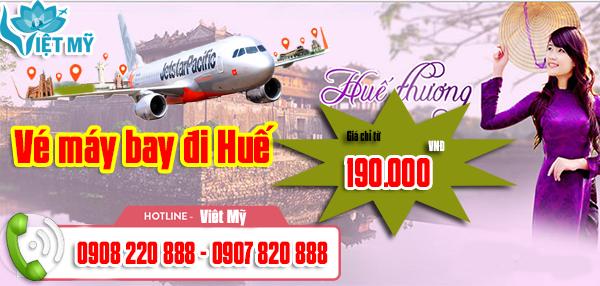 Vé máy bay TPHCM đi Huế tháng 12 giá chỉ từ 190.000 đồng