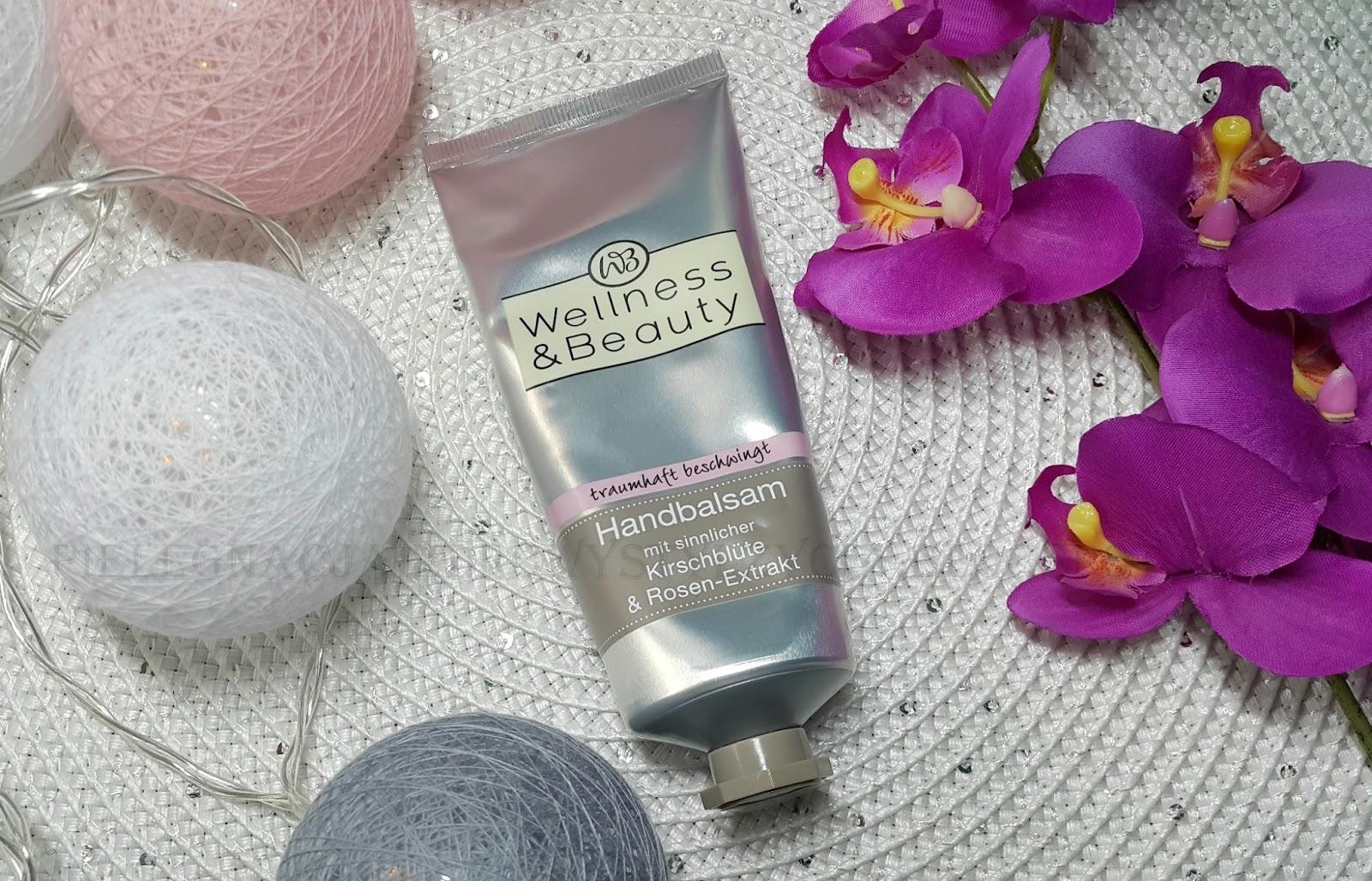 Balsam do rąk Kwiat Wiśni i Róży Wellness&Beauty | Rossmann
