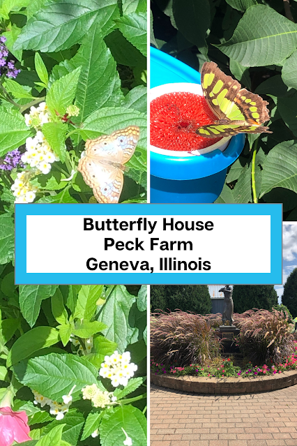 Fluttering Butterflies, Lake Views, Vibrant Gardens, Prairie Paths and More at Peck Farm in Geneva, Illinois