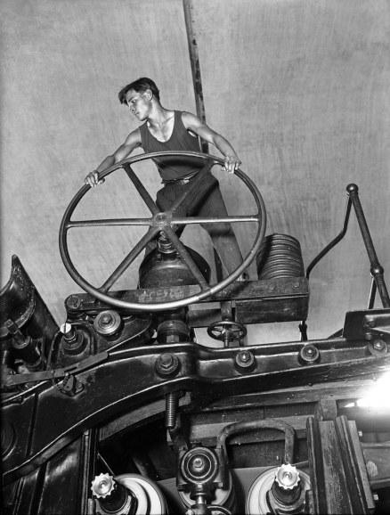 Komsomol Member at the Wheel, 1929 © Arkady Shaikhet