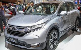 Giá xe Honda CRV 7 chỗ turbo