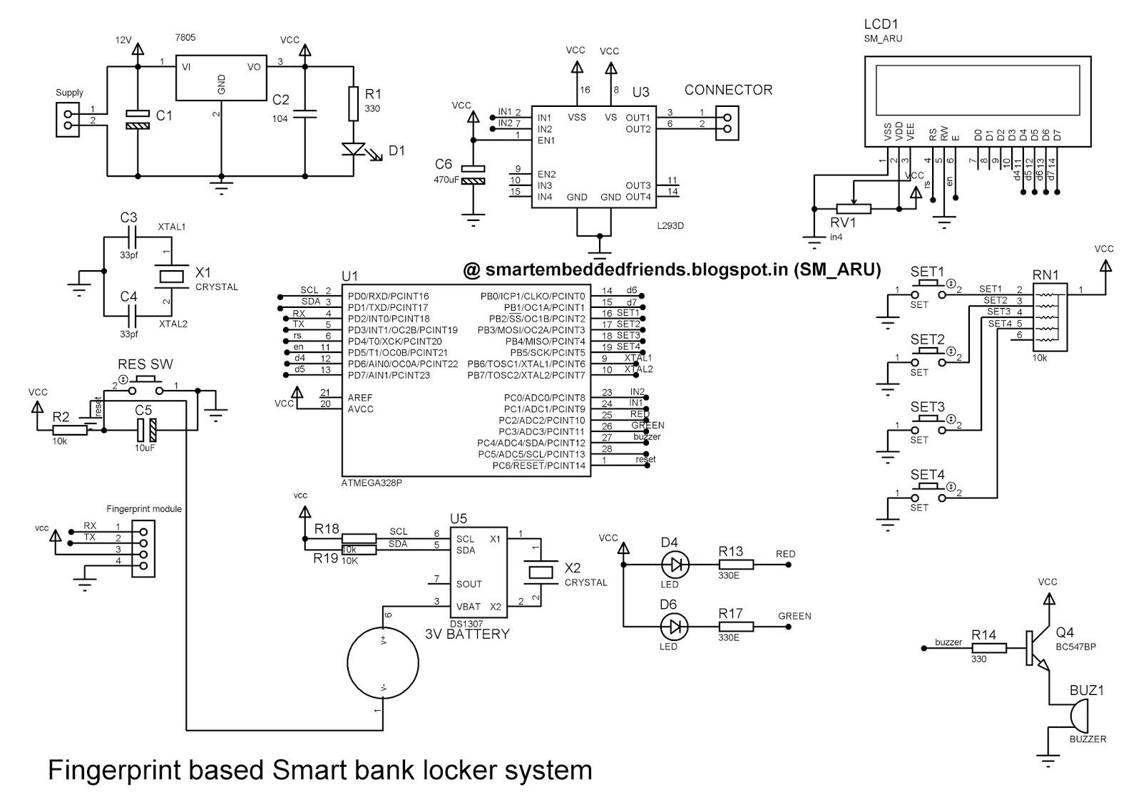 Gewaltig Smart Bank Sammlung Von Fingerprint Based Locker System Project