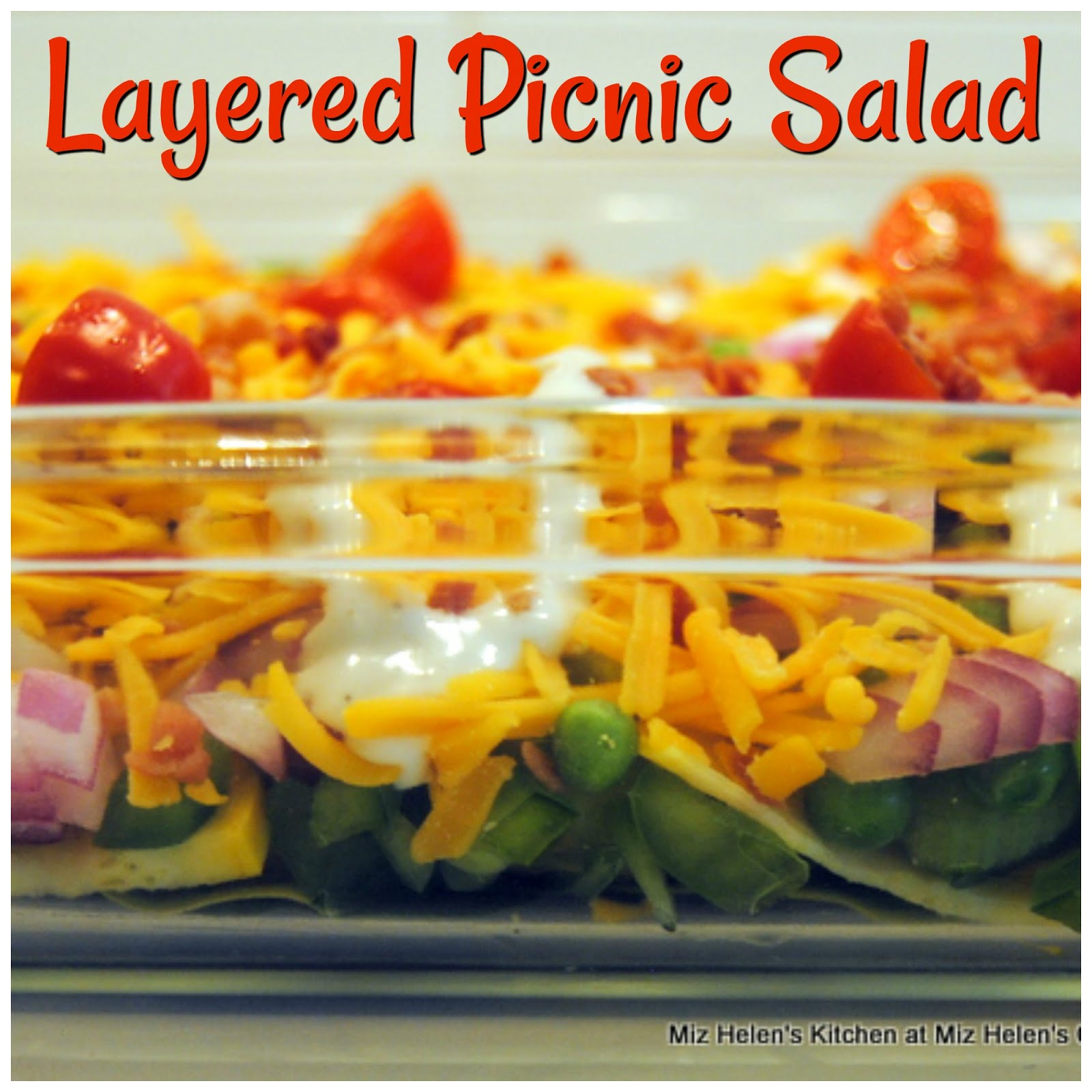 Layered Picnic Salad
